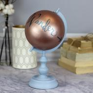 Metallic and Chalky Globe