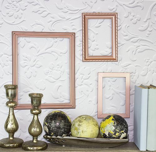 Bright and Bold Décor Metallic Frames