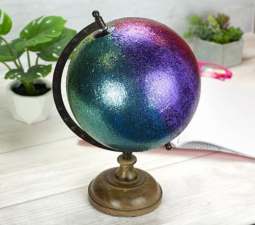 Glitter Globe with Ombre