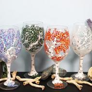 Seasonal Wineglasses