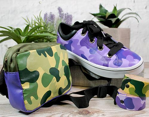 Graffiti Camouflage Shoes & Accessories