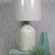 Elegant Paint Poured Lamp