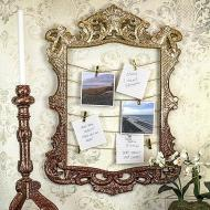 Memory Frame and Candlestick