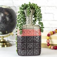 Color Block Vase