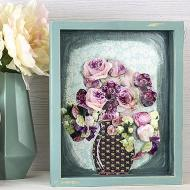 Flowers in A Shadowbox