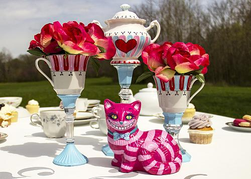 Alice in Wonderland Tea Set Centerpiece
