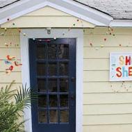 Colorful Wooden Bead Garland