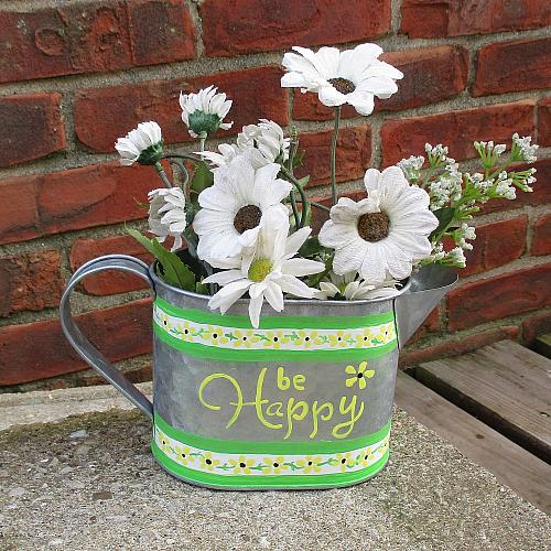 Springtime Watering Can
