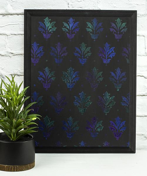 DuraClear Iridescent Stenciled Board