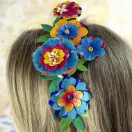 Mexican Flower Headband