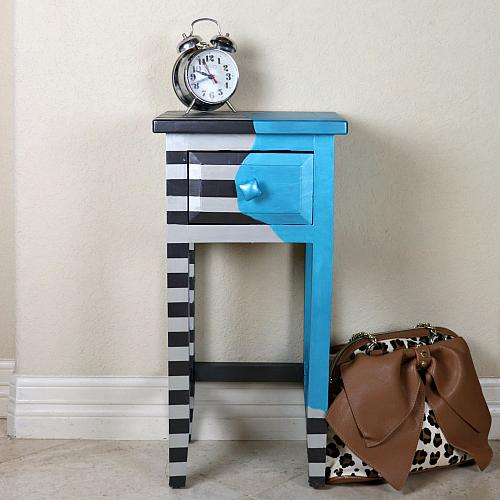 Whimsical Artsy Nightstand