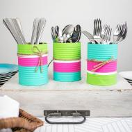 Colorful Utensil Holders