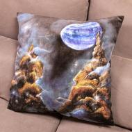 Nebula Painted Pillow