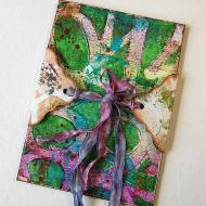 Gelli Prints Mixed Media Journal