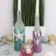 Beachy, Tiered Candleholders