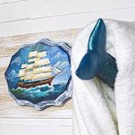 Nautical-Themed Towel Racks