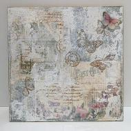 Mixed Media Butterfly Panel