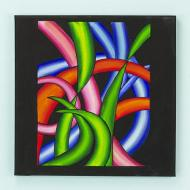 Life's Twists and Turns Painting