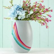 Bright Art Deco Vase