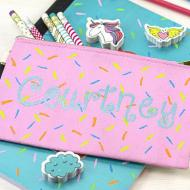 Sprinkles Pencil Pouch