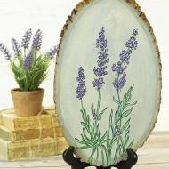 Lavender Sprigs Painting