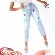 Patriotic Painted DIY Jeans