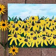 Paint Black-Eyed Susans