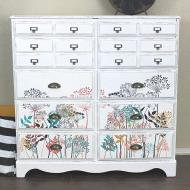 Colorful Wildflowers Dresser