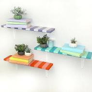 Striped Shelves