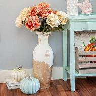 Fall Textured Vase Makeover