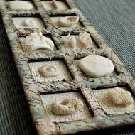 Recycled Media Frame Fossil Tray