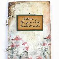 A Misty Morning Mixed Media Journal