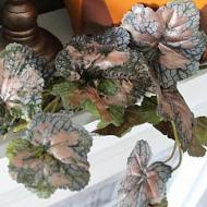 Metallic Dusted Fall Garland