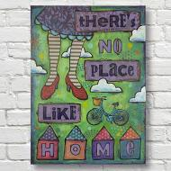 """There\'s No Place Like Home"" Canvas"