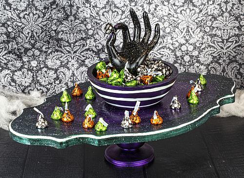Grab Some Candy Creepy Candy Dish