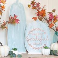 Halloween to Fall Reversible Sign