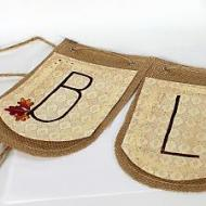 Fall-Winter Holiday Reversible Sign