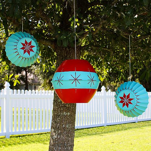 Mod Outdoor Tree Ornaments
