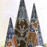 Winter Woodland Cones