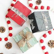 Upcycled Christmas Gift Wrap Ideas
