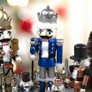 Classic Nutcrackers in Metallic