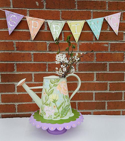 Upcycled Two-Season Watering Can