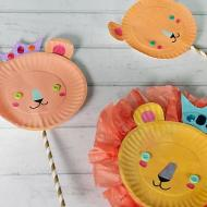 Lion Family Puppets