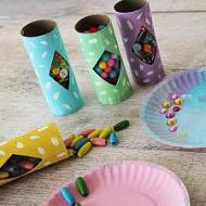 Artful Paper Rolls and Plates