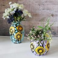 Sunflower Vases