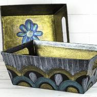DIY Shimmering Containers