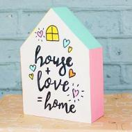 Little House with Quote