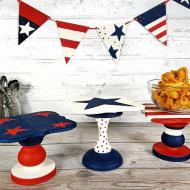 Patriotic Decorative Stands