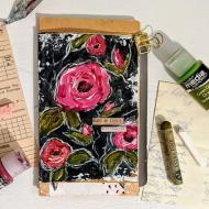 Mixed Media Vintage Journal Pages