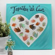 """Together We Can"" Group Art"